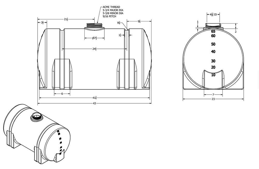Arena-Werks-products-65-Gallon-Leg-Tank